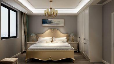 100平米三室一厅北欧风格卧室装修案例