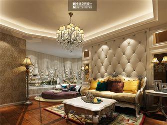 140平米三室三厅新古典风格卧室图片大全