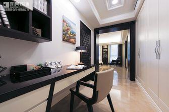 120平米复式现代简约风格书房橱柜欣赏图