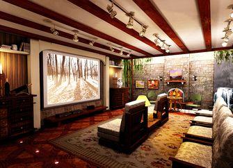 140平米复式中式风格影音室装修图片大全