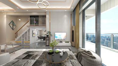 15-20万90平米复式现代简约风格客厅装修效果图