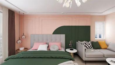 90平米一室一厅现代简约风格卧室装修案例