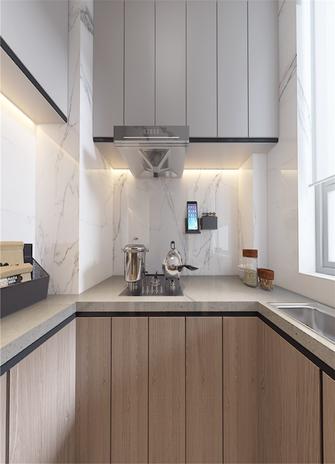 60平米三室一厅现代简约风格厨房装修效果图