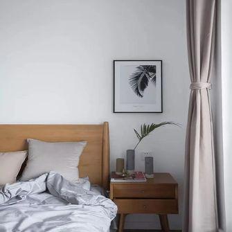 130平米三室一厅北欧风格卧室装修图片大全