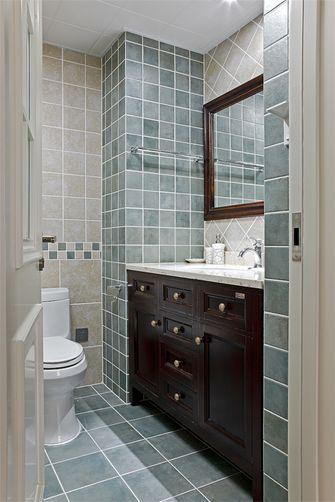 130平米三室一厅美式风格卫生间装修案例