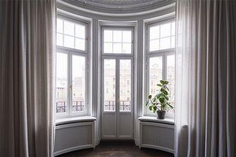 100平米三室两厅美式风格阳台装修效果图