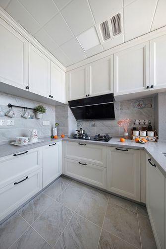110平米三室两厅美式风格厨房图片