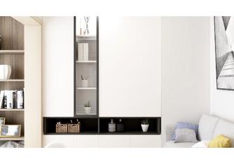 100平米三室一厅现代简约风格书房装修效果图