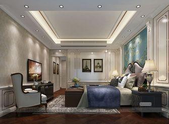 140平米三室一厅新古典风格卧室效果图