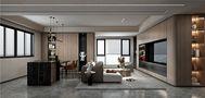 110平米四室三厅其他风格客厅图