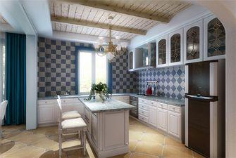 120平米三室两厅地中海风格书房设计图