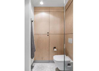 50平米一居室北欧风格卫生间图片