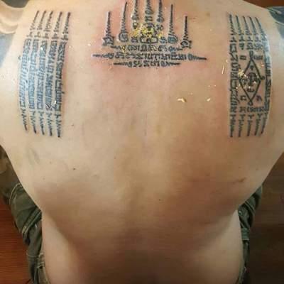 拉马哈桑利纹身款式图