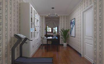 140平米三室两厅美式风格健身室图