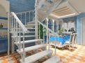 3-5万110平米三室两厅地中海风格楼梯欣赏图