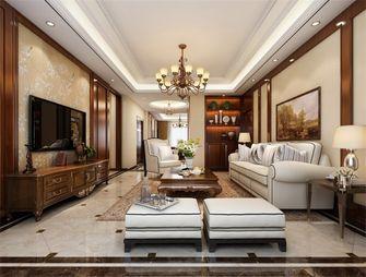 140平米三室两厅中式风格客厅欣赏图
