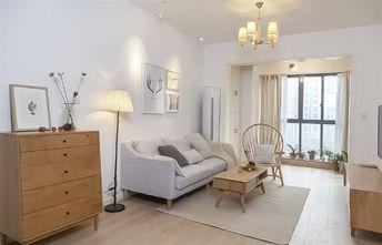 90平米欧式风格客厅设计图