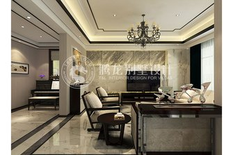 140平米别墅现代简约风格客厅沙发图片大全