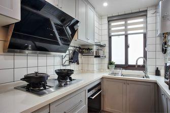 80平米三室两厅北欧风格厨房效果图