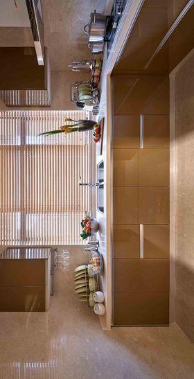 110平米三室两厅现代简约风格厨房装修图片大全