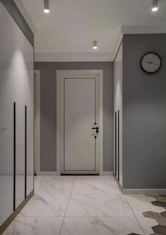 110平米三室两厅北欧风格玄关图片