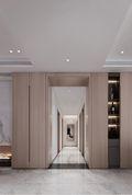 120平米三室两厅其他风格走廊装修图片大全