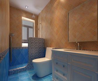 130平米四室一厅地中海风格卫生间设计图