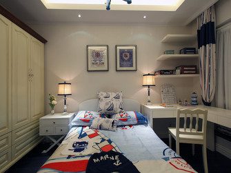 70平米公寓地中海风格卧室装修图片大全