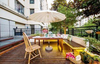 豪华型140平米四室四厅日式风格阳台欣赏图