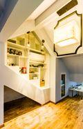 120平米复式新古典风格阁楼装修图片大全
