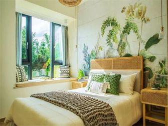 100平米三室一厅田园风格卧室图片大全