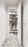 80平米三室一厅北欧风格储藏室装修案例