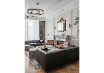 140平米三室一厅法式风格客厅装修图片大全
