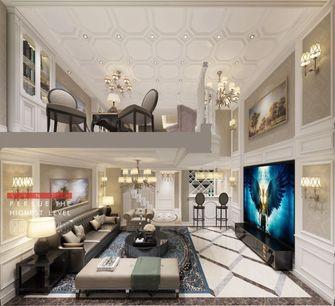 20万以上140平米复式欧式风格客厅设计图