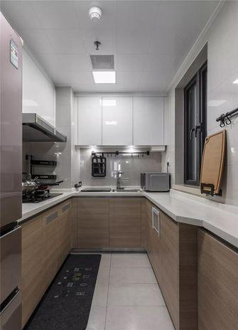90平米三美式风格厨房欣赏图