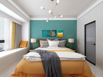 110平米四室两厅北欧风格卧室装修案例
