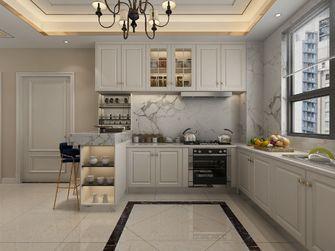 130平米三室两厅欧式风格厨房图