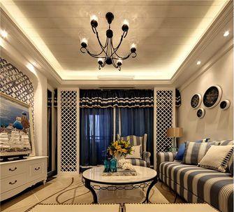 140平米三室两厅地中海风格客厅欣赏图