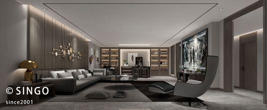 140平米四室两厅欧式风格影音室欣赏图