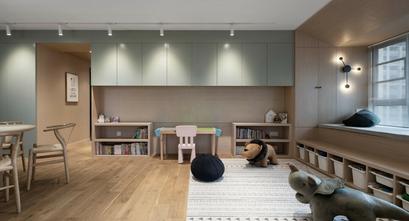 100平米四室两厅北欧风格客厅欣赏图
