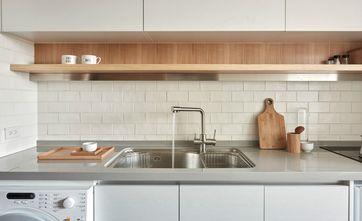 50平米一室两厅北欧风格厨房装修效果图