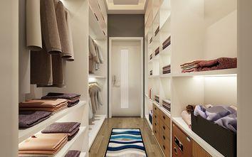 110平米三室一厅混搭风格衣帽间图片大全