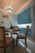 富裕型110平米三室两厅地中海风格影音室装修图片大全
