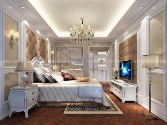 豪华型140平米三室三厅欧式风格卧室装修图片大全