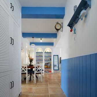 130平米三室一厅地中海风格走廊图