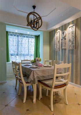 富裕型100平米三室一厅现代简约风格餐厅装修案例