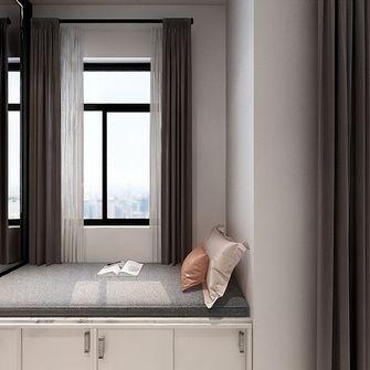 90平米三室一厅宜家风格卧室装修图片大全