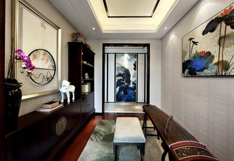 140平米四室两厅中式风格健身室图片