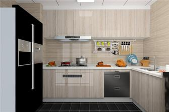 90平米北欧风格厨房装修效果图