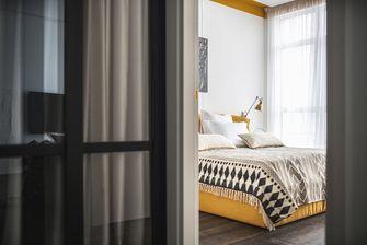 60平米一室一厅北欧风格卧室装修效果图